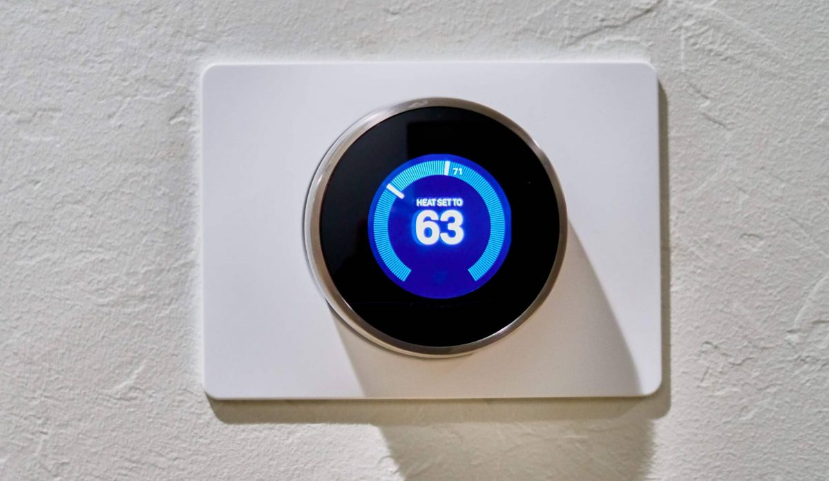 temperature control with thermostat
